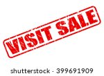 visit sale red stamp text on... | Shutterstock .eps vector #399691909