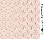 vector seamless pattern. modern ... | Shutterstock .eps vector #399696961