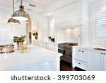 beautiful kitchen having... | Shutterstock . vector #399703069