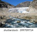 glacier melting in norway
