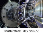 jet engine  internal structure... | Shutterstock . vector #399728077