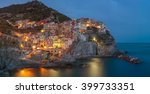 manarola is one of the oldest... | Shutterstock . vector #399733351