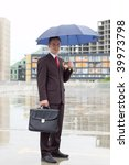 businessman outdoor the office... | Shutterstock . vector #39973798