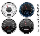 speedometer. set of speed... | Shutterstock .eps vector #399741901