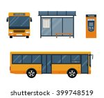 flat style concept of public... | Shutterstock .eps vector #399748519