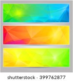 a set of  banners with...   Shutterstock . vector #399762877