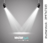 vector spotlights. scene. light ...   Shutterstock .eps vector #399767335