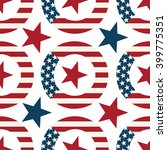 wreath with symbols of the us...   Shutterstock .eps vector #399775351