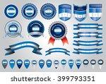made in honduras seal  republic ... | Shutterstock .eps vector #399793351