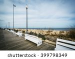 Benches On The Boardwalk In...