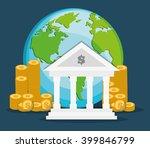 bank icon  design  vector...