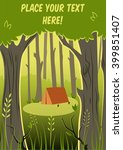 vector background with place... | Shutterstock .eps vector #399851407