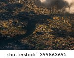 the view from the sky at... | Shutterstock . vector #399863695