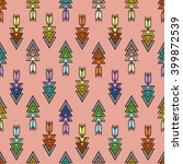 tribal patterns with line ...   Shutterstock .eps vector #399872539