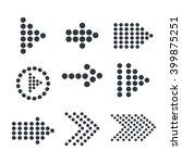 guide arrows design  | Shutterstock .eps vector #399875251