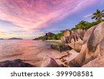 beautifully shaped granite...   Shutterstock . vector #399908581