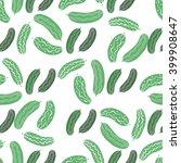 funny handdrawn  seamless... | Shutterstock .eps vector #399908647
