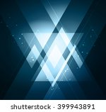 vector abstract light... | Shutterstock .eps vector #399943891