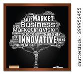 vector concept or conceptual... | Shutterstock .eps vector #399953455
