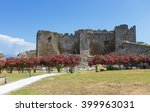 view of patras castle ... | Shutterstock . vector #399963031