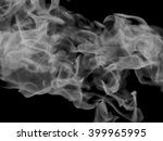 smoke on a black background | Shutterstock . vector #399965995