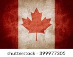 flag of canada or canadian... | Shutterstock . vector #399977305