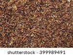 A Pile Of Freshly Cut Tobacco...