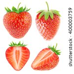 Isolated Strawberries....