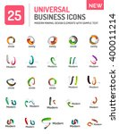 vector set of various new... | Shutterstock .eps vector #400011214