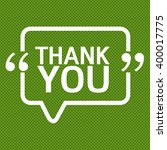 thank you lettering...   Shutterstock .eps vector #400017775