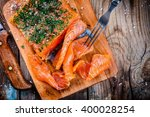 Homemade Smoked Salmon With...