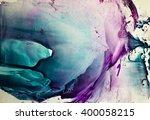 watercolor colorful splash... | Shutterstock . vector #400058215