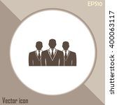 team icon | Shutterstock .eps vector #400063117