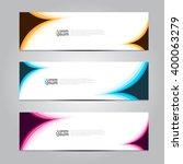 vector design banner... | Shutterstock .eps vector #400063279