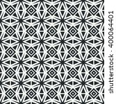 geometric line monochrome...   Shutterstock .eps vector #400064401