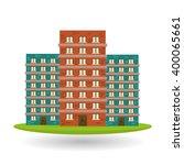 building icon design | Shutterstock .eps vector #400065661