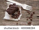 A Chocolate Cake Or Brownies...