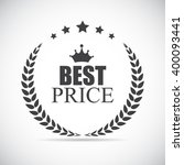 best price label illustration  | Shutterstock . vector #400093441