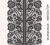 lace seamless pattern. | Shutterstock .eps vector #400101739