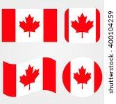 canada flag | Shutterstock .eps vector #400104259