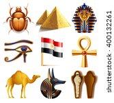 Egypt Icons Detailed Photo...