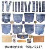 Jeans Pockets  Loops  Buttons...