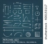 architectural  technical and... | Shutterstock .eps vector #400153117
