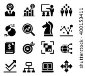 business analysis icon | Shutterstock .eps vector #400153411