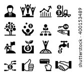 business success icon | Shutterstock .eps vector #400153489