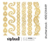 vector illustration of gold... | Shutterstock .eps vector #400154449