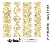 vector illustration of gold... | Shutterstock .eps vector #400154455