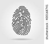 fingerprint icon....
