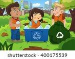a vector illustration of kids... | Shutterstock .eps vector #400175539