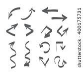 hand drawn arrows illustration  | Shutterstock . vector #400175731
